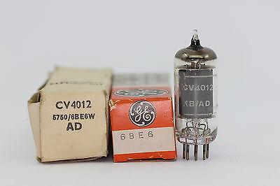 5750 - 6Be6 - Ek90 Tube.  Mixed Brand Tube. Nos/Nib. Rc5.