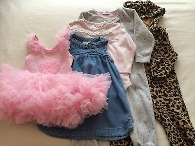 ed72404f4 BABY GIRL 9-12 Months Bundle Outfits Next YD Zara Clothes joblot ...