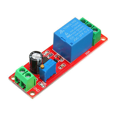 NE555 Chip Time Delay Relay Module Single Steady Switch Time Switch 12V