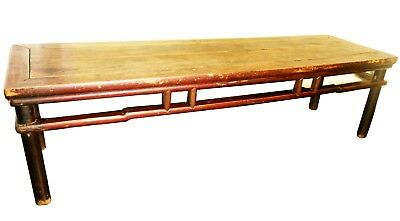Antique Chinese Large Ming Coffee Table (2820), Circa 1800-1849