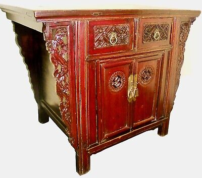 """Antique Chinese """"Butterfly"""" Cabinet (2756), Circa 1800-1849"""