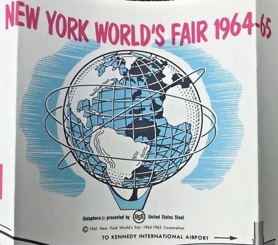 Vintage 1964-1965 New York CITY Worlds Fair Visitor's Guide First National City