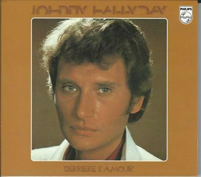 Cd JOHNNY HALLYDAY - Derriere l'amour (occasion comme neuf digipack)