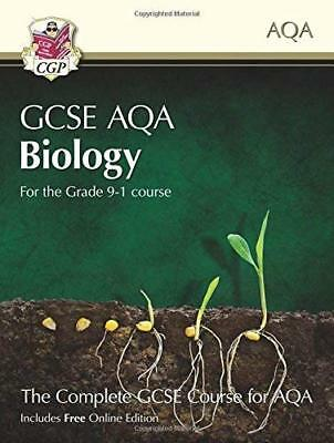 New Grade 9-1 GCSE Biology for AQA: Student Book by CGP Books New Paperback Book