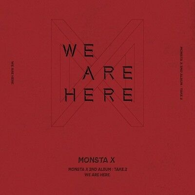 Monsta X-[Take.2 We Are Here] 2nd Album Random CD,Book,Polaroid,Card eldo