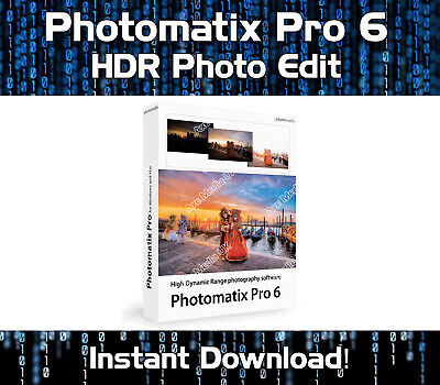 Photomatix Pro 6 Hdr Photo Editing Suite Software & License Windows Download
