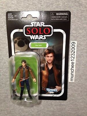 VC124 Solo  Movie Wave 2 Star Wars Vintage Collection Han Solo