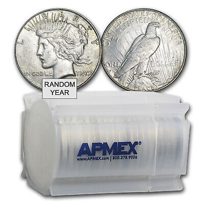 1922-1935 Peace Silver Dollar VG-XF (20-Count Roll, Random)