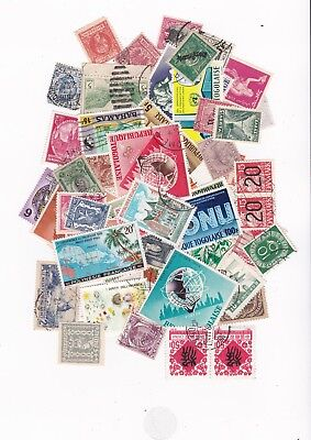 Old Worldwide Stamps 100pcs