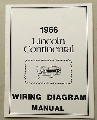 1966 lincoln continental wiring diagram manual
