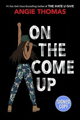 *SIGNED/AUTOGRAPHED* On The Come Up by Angie Thomas HARDCOVER - BRAND NEW!