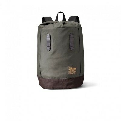 fba09ad039 NEW FILSON DAY PACK OTTER GREEN 70413 NYLON LIGHTWEIGHT 15x19