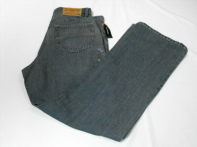 Express Light Weight Denim Men's Boot Cut Jeans Size 32w x 32L (ID#2992)