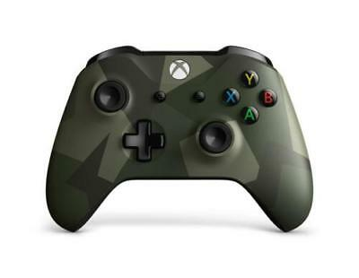 Microsoft Xbox One Wireless Controller Armed Forces II Genuine - NEW OPEN