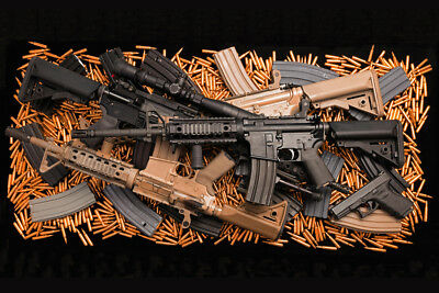 AR15 ASSAULT RIFLE GLOSSY POSTER PICTURE PHOTO PRINT cool weapon ammo gear 4111