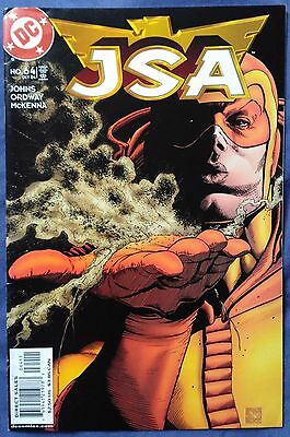 JSA (1999) #64 by Geoff Johns & Jerry Ordway - DC COMICS/JUSTICE SOCIETY