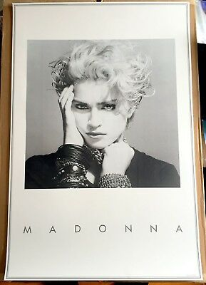 MADONNA official promo lithograph 1983 poster Holiday Lucky Star Borderline