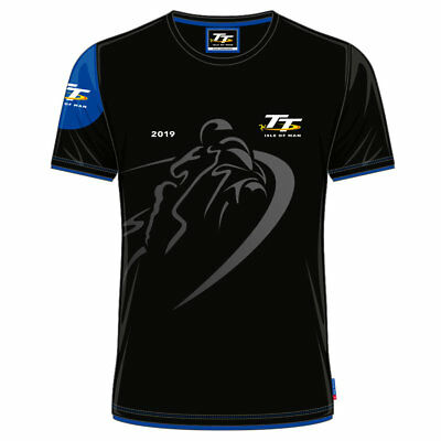 Official 2019 Isle of Man TT Races Custom's  T'Shirt - 19ACTS1