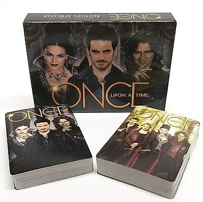 Once Upon A Time Character 2 Poker Deck Playing Card Set in a Gift Matchbox