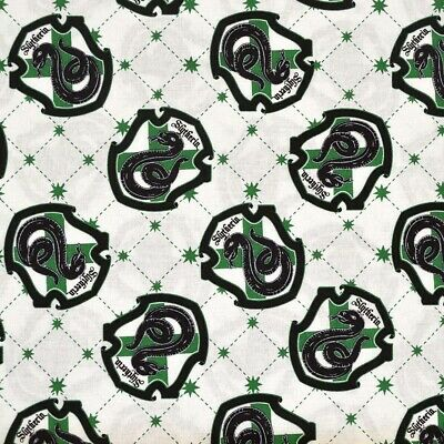 Camelot PER METRE harry potter draco malf... 1m Slytherin House Wizarding World