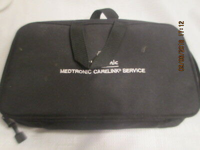 Medtronic Carelink Monitor Model #2490G & carrying case CD manual charger +