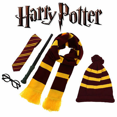 Harry Potter Wand World Book Day Dress up Glasses-Scarf-Hat & Tie