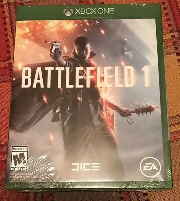 Battlefield 1 Xbox One Brand New Sealed 2016