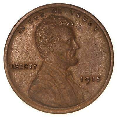 1915 Lincoln Wheat Cent Extra Fine Penny XF