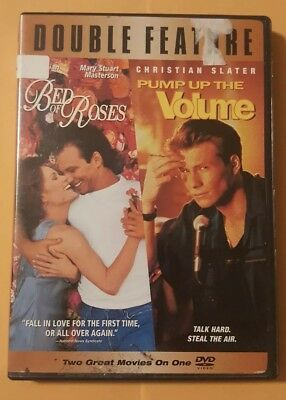 Bed Of Roses/pump Up The Volume On Dvd In Very Good Cond Christian Slater