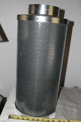 """6""""  Hydroponic Air Carbon Filter Odor Control Scrubber for Inline Exhaust"""
