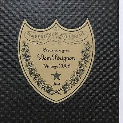 Dom Perignon Vintage 2009 Champagne Brut EMPTY Collectors Box with Pamphlet