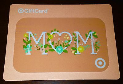 """Target Gift Card """"mom"""" No Value New Mothers Day Collectible 2016"""