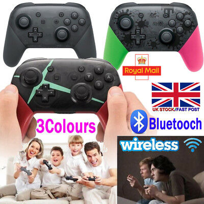 For Nintendo Switch Bluetooth Wireless Gamepad Joystick Pro Controller+USB Cable