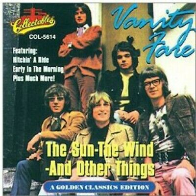 Vanity Fare - The Sun The Wind and Other Things [New CD]