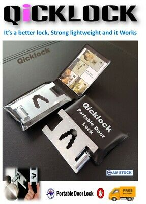 My Security Portable Door Lock. Home Or Travel. Protect Yourself