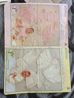 Vintage Patons  Knitting / Crochet Pattern Book No700- Layettes in 4 ply