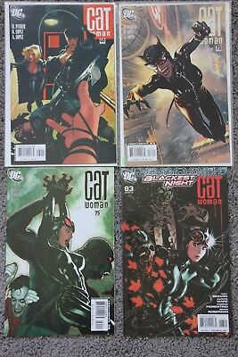 CATWOMAN LOT #60, 73, 75, 83, four issues Adam Hughes covers High Grade+