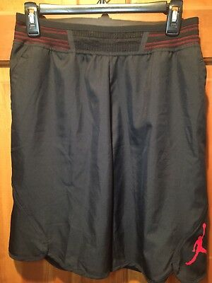 99c32458af1 NIKE JORDAN MID-FLIGHT VICTORY Bred XI Basketball Shorts 821917 010 size  Small