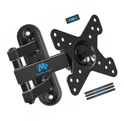 Mounting Dream Full Motion Monitor TV Wall Mount for 10-26 Inches LED, LCD TVs,