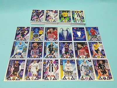 Topps Match Attax Champions League Road to Madrid 19 komplett alle 212 Karten