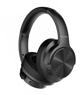 Mixcder E9 Wireless Active Noise Cancelling Headphones (Dual 40mm Drivers, CSR,