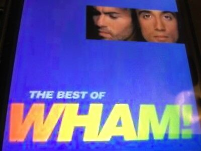 The Best Of Wham - Greatest Hits Cd - George Michael - Bad Boys / Freedom +