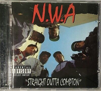 N.W.A - Straight Outta Compton (Remastered) - CD 2002