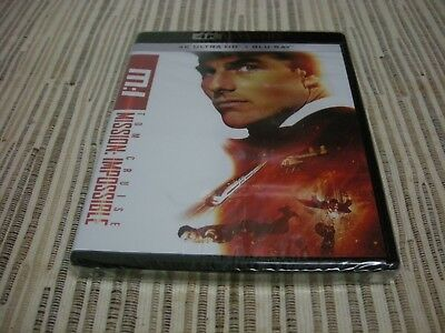 4K Ultra Hd + Bluray Mision Imposible Mission Impossible Nuevo