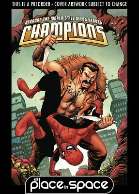 (Wk10) Champions, Vol. 3 #3B - Spider-Man Villains Variant - Preorder 6Th Mar