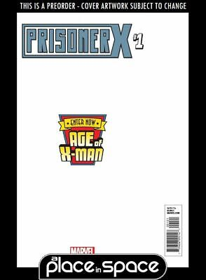 (Wk10) Age Of X-Man: Prisoner X #1C - Secret Variant - Preorder 6Th Mar