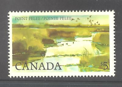 Canada $5 LARGE STAMP POINT PELEE SCOTT 937 VF MINT NH (BS11983)