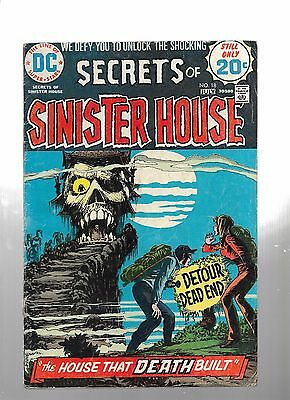 Secrets of Sinister House #18 (Jun-Jul 1974, DC) Last Issue