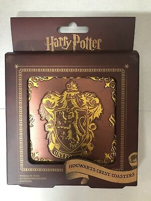 Fantasy, Mythical & Magic Harry Potter Hogwarts Coasters Hufflepuff Slytherin Gryffindor Ravenclaw Primark