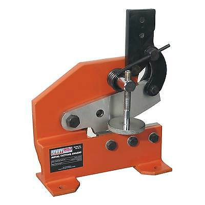 Sealey Metal Cutting Shears/Cropper/Guillotine 4mm Capacity 10mm Round - 3S/4R